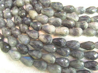 wholesale 2strands 8x10 15x20mm Natural Labradorite DIY beads Drop pearl faceted Blue Flashy beads supply