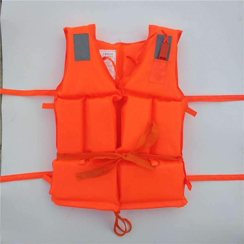 Professional Kids Adult Men Life Jack Buoyancy Life Vest Swimming Boating Safety Ski Survival Life Vest Whistling Drifting in Life Vest from Sports Entertainment
