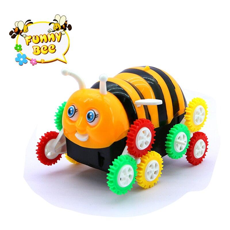 Robot elettrico cane cartone animato ape secchio auto stunt