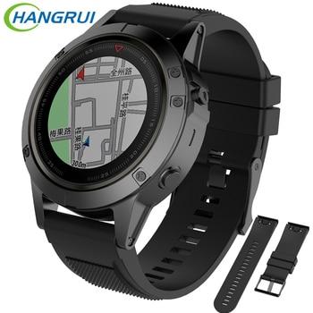 Силиконовый ремешок для часов 26 мм для garmin fenix 5X fenix3 fenix3 HR fenix3Sapphire D2 Bravo quaitx3 tactix Bravo smartwatch Браслет