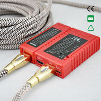 NOYAFA NF 622 HDMI wire tester check disorder, short, open and cross status of HDMI cables tester and HD wire test NF_622