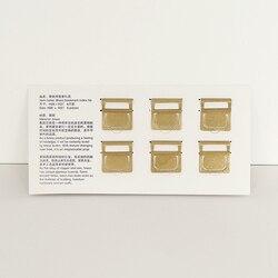6 teile/satz Retro Messing Bookmark Index Datei Kupfer Metall Lesezeichen Label Clip Für Midori Reisenden der Notebook Vintage Schreibwaren