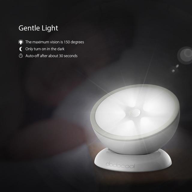 PIR Motion Sensor Led Night Light Emergency LED Light Detector Battery  Powered Led Cabinet Lamp Lights