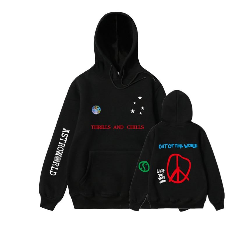 185a4ac7002a 2019NEW Men hoodies Travis Scott Astroworld WISH YOU WERE HERE Sweatshirt  Men fashion letter print Hoodie Men and woman Pullover-in Hoodies &  Sweatshirts ...