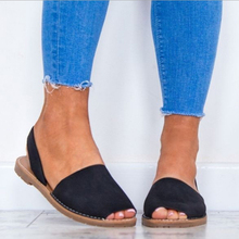 Flats Sandals Summer Women Sandals Fashion Casual Shoes For Woman European Rome Style Sandals Female Plus Size 35-43