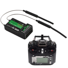 FS-i6X RC Radio Transmitter 2.4G FS-iA6B Receiver High Efficiency For RC Drone Quadcopter M09