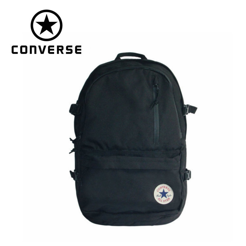 Converse original outdoor backpack size OS black and blue color On foot walking and Mountaineering bag