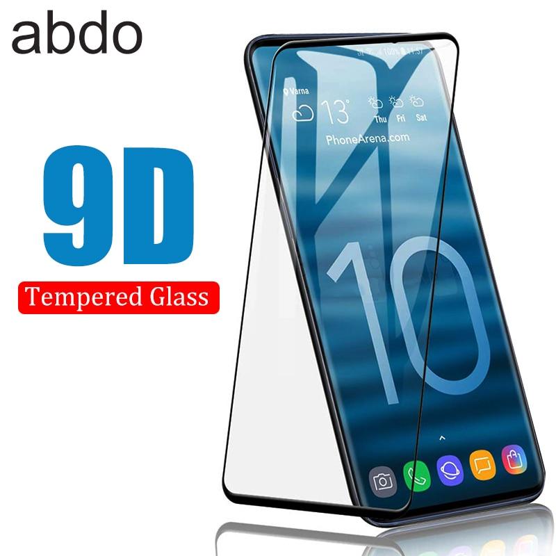 9D изогнутое стекло для Samsung Galaxy S10 S9 Plus S10E, закаленное стекло, полное покрытие, защитная пленка для Samsung S10 5G A50|Защитные стёкла и плёнки|   | АлиЭкспресс