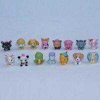 Animales de compañía de Gran colección mezclada al azar Acción PVC Figura de Colección de Juguetes 100 unids/lote Envío Gratis