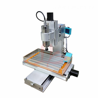 Vertical 3040 cnc engraving machine 2200w 3aixs milling cutting router work area 300x400x150mm