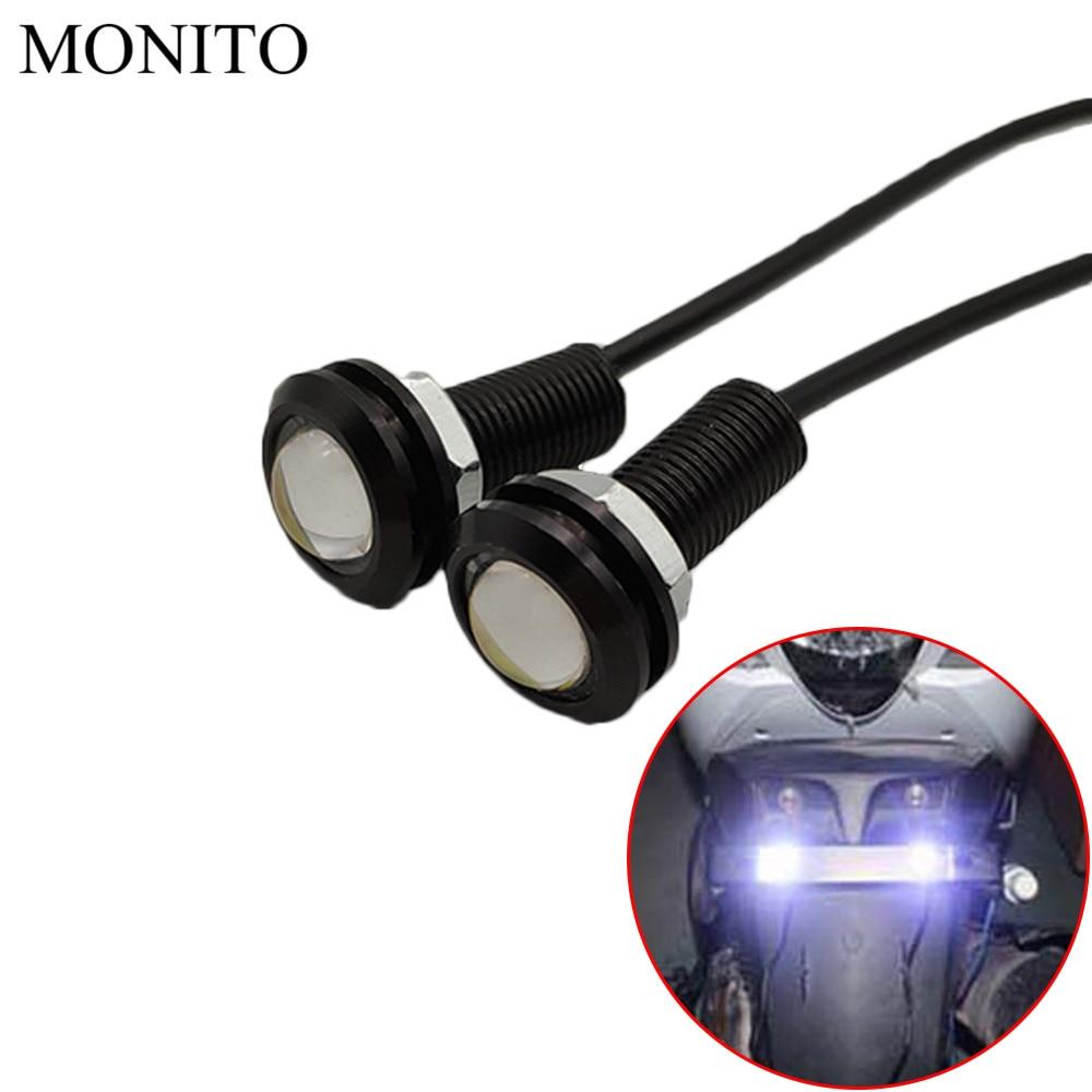 Motorcycle Eagle Eye LED Strobe Light DRL Daytime Running Signal Lamp For Suzuki Hayabusa GSXR 600 7