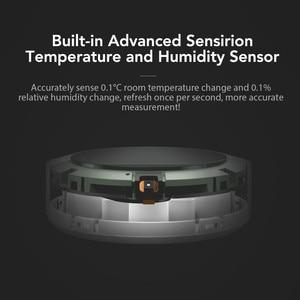Image 5 - Xiao mi mi jia temperatura e hu mi difier inteligente monitor interno bluetooth mi casa app controle ar condicionado ventilador hu mi difier