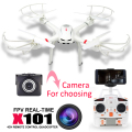 MJX X101 RC helicopter drone quadcopter Professional rc camera drones with C4018 HD camera Free shipping