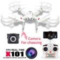 X101 MJX RC helicóptero zangão quadcopter rc drones câmera Profissional com C4018 HD camera Frete grátis