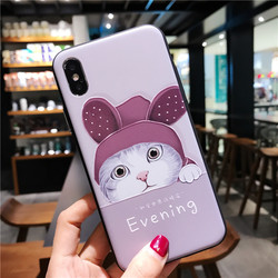 for iPhone 7 Case 3D Cartoon Cat Ear Capinha Case iphone 6Plus Silicone Soft TPU for iPhone x 6 7 8 plus 2