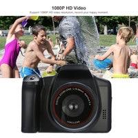 New 1080P HD 16X ZOOM SLR Digital Cameras Fotografica Appareil Photo Reflex Flash Lamp Recorder Camcorder Cam Video Photography