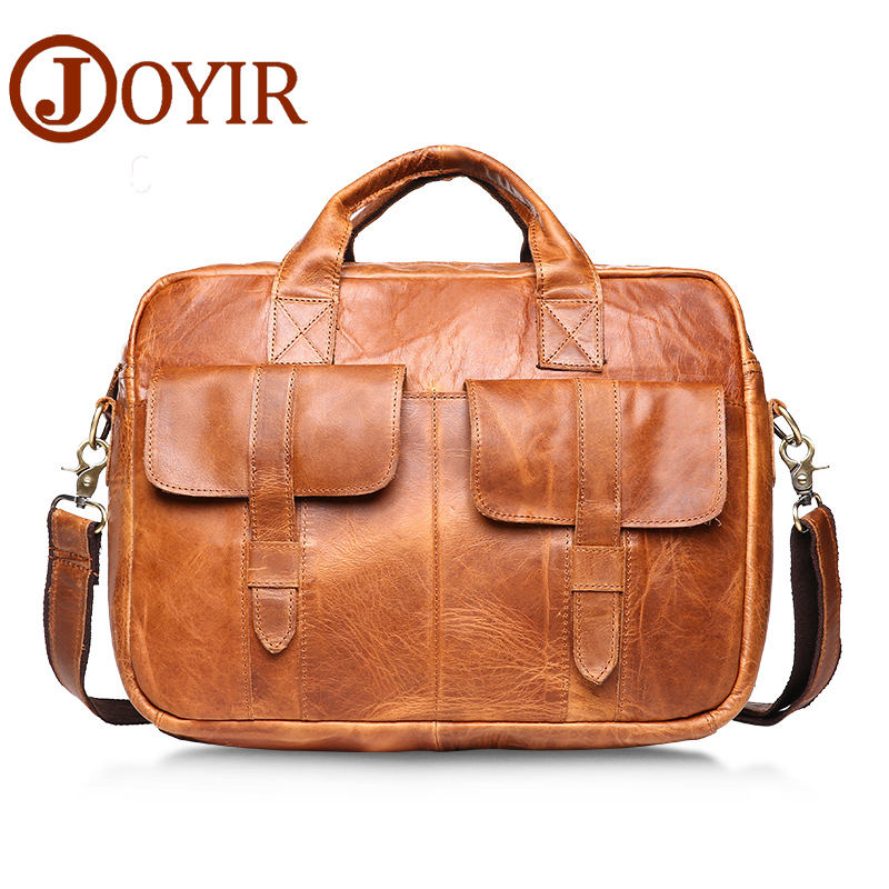 JOYIR Fashion genuine leather man Briefcase handbags cowhide leather crossbody bag men messenger bags men gift bag B81 paula mcgee advanced practice in nursing and the allied health professions