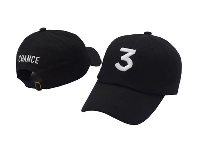 Unisex Chance The Rapper 3 Hat Dad Cap Snapback Number 3 Adjustable Baseball Caps