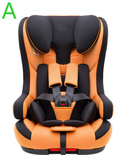 Multi color Natural Healthy Child Car Safety Seat For 9 Month 12 Years Old Baby Use