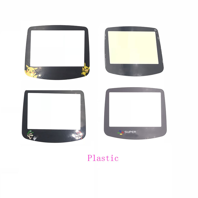 For Nintendo GameBoy Advance GBA System Replacement Plastic  Screen Lens Cover