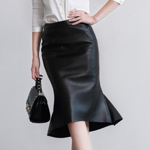 2018 New Fashion Genuine Sheep Leather Skirt G6