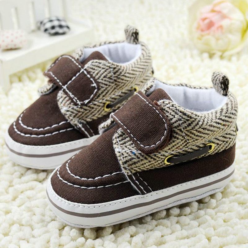 2017 Hot 0-18M Toddler Baby Boy Girl Soft Sole Cotton Crib Shoes Prewalker