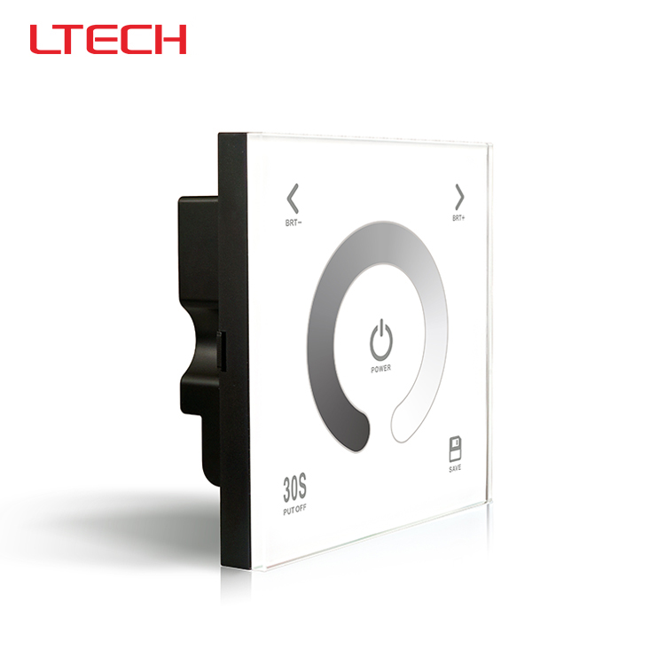 ФОТО DX1 dimming touch panel led controller,AC100-240V input,RF 2.4G+DMX512 output signal for R4-5A R4-CC Wireless receiver