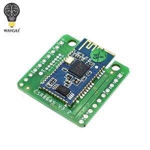 WAVGAT 5 W + 5 W Bluetooth 4.0 wzmacniacz zarządu CSR8645 APTX APT-X Stereo moduł odbiornika głośnik wzmacniacz Audio bezstratnej w /funkcja połączenia