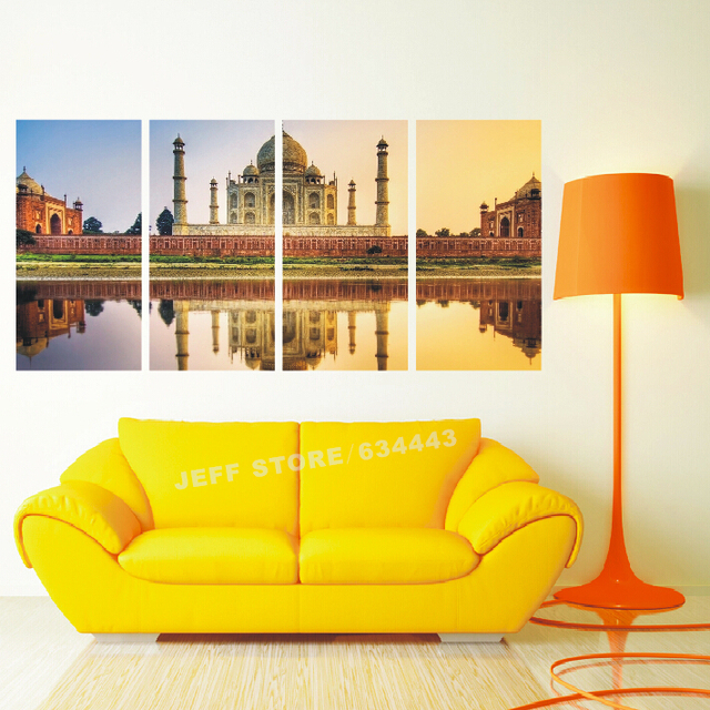 Large Multi Panel Canvas Wall Art Living Room Home Decorative Oil ...