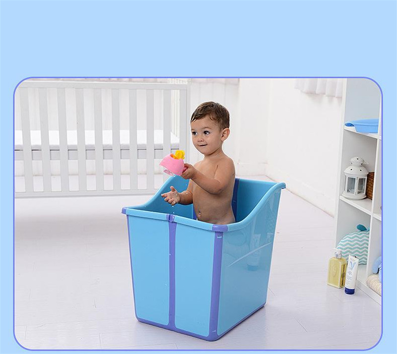 Large Size Foldable Babies Bath Tub Almofada Banho With a Seat In ...