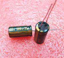 35V 560UF 10*20 high frequency low impedance aluminum electrolytic capacitor 560uf 35v
