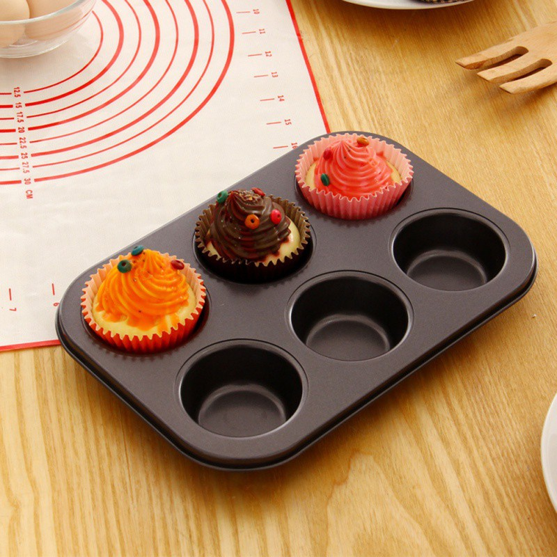 Cake Mold Round Muffin Cake Mold Oven Cake Baking Tray Home Garden Kitchen Dining Bake Ware