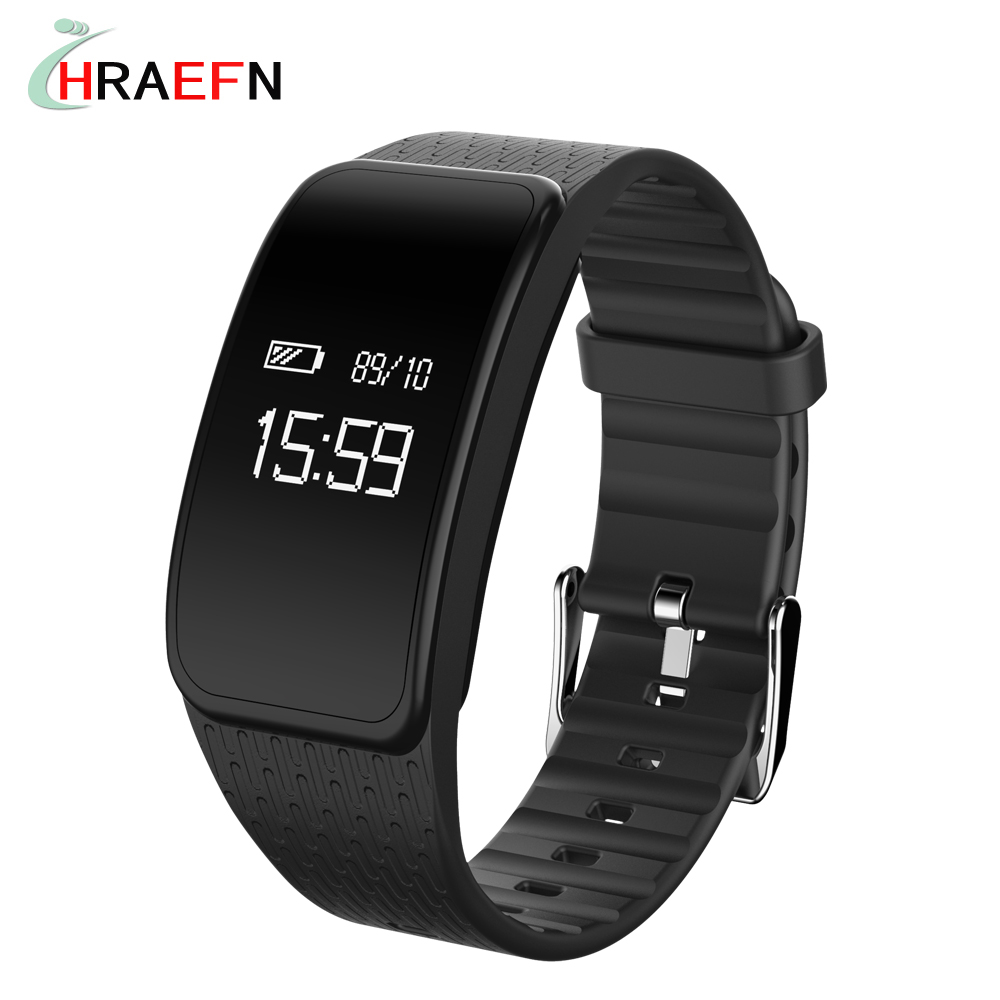 2017 Smart Band A59 smartband Blood pressure Heart rate monitor sport bracelet fitness watch For iOS