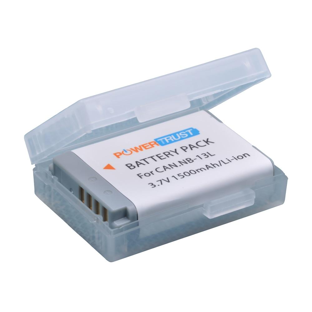 1Pc 1500mAh NB-13L NB 13L NB13L Battery For Canon PowerShot G5X G7X G9X G7 X Mark II G9 X,SX620 SX720 SX730 HS Digital Camera