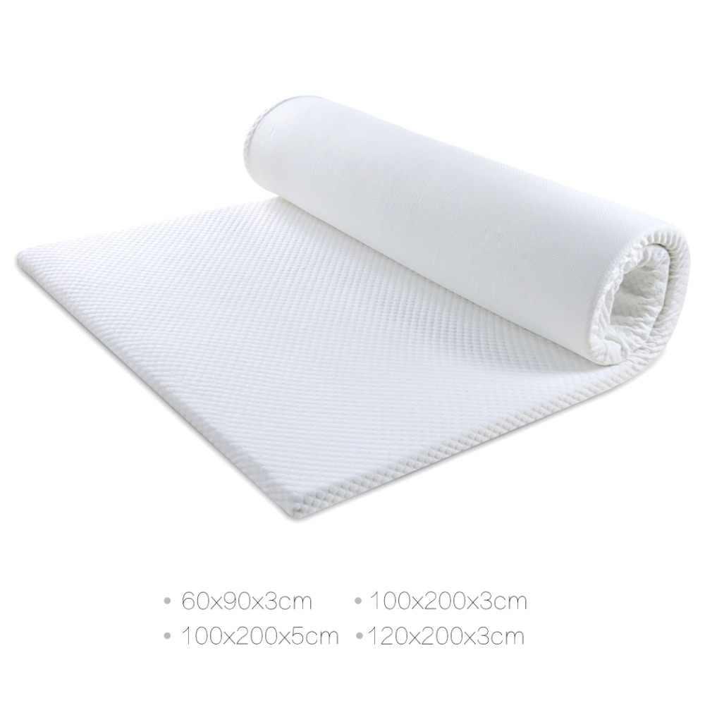 - Foldable Memory Foam Mattress 3/5CM Thickness Student Dormitory