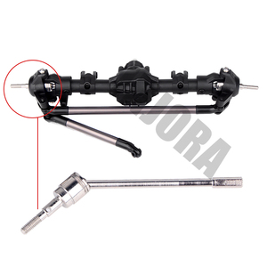 Image 5 - INJORA 1:10 RC Crawler Complete Differential Axle for Axial SCX10 II 90046 90047 RC Car Upgrade Parts
