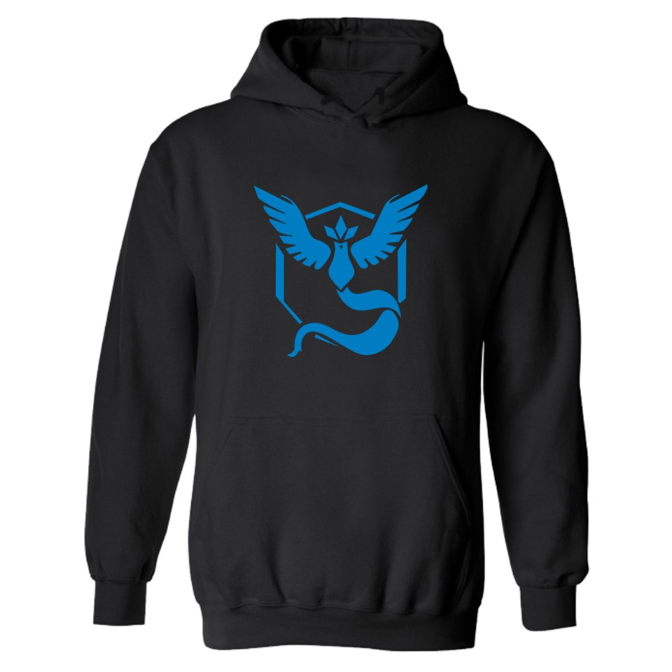 Pokemon Go Hooded Hoodies Women Winter Fashion Casual Mens Hoodies And Sweatshirts Set Black Moltres Cartoon Funny Clothes