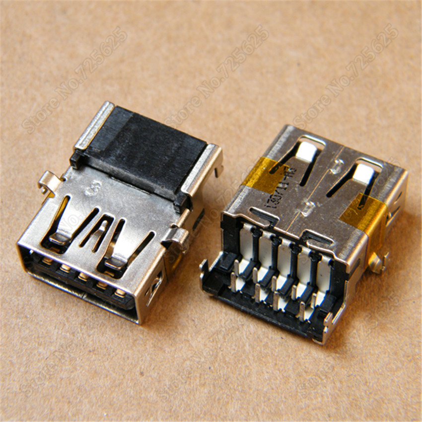 3.0 USB Jack Socket Female Port for LENOVO ASUS ACER ACER SAMSUNG HP  9PIN CONNECTOR клавиатура lenovo hp