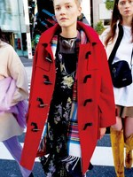 2019 The New Easing Horn Cloth Winter Women Coats Autumn Winter Black Jackets Women Red Black Jackets Blue Coat Women