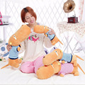 "1 unids 20 "" 50 cm de peluche de juguete mentira muñeca del perro propenso almohada lindo muñecas creativas envío gratis"