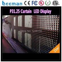 Leeman P37.5 SMD dip-rgb на открытом воздухе полный цветной полосы из светодиодов занавес