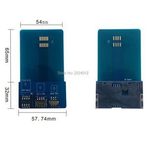 Адаптер Pinboard для сим-карты, конвертер для расширения смарт-карты IC для сим-карты Micro SIM Nano 2FF, 3FF, 4FF sim-карты