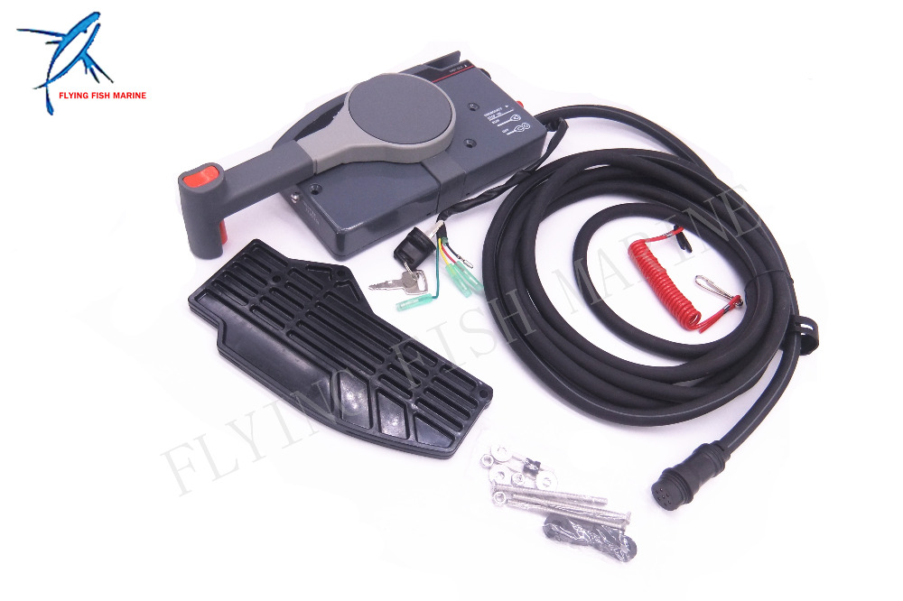 703 48230 14 703 48203 15 703 48203 17 Remote Control Box Assy for Yamaha Outboard