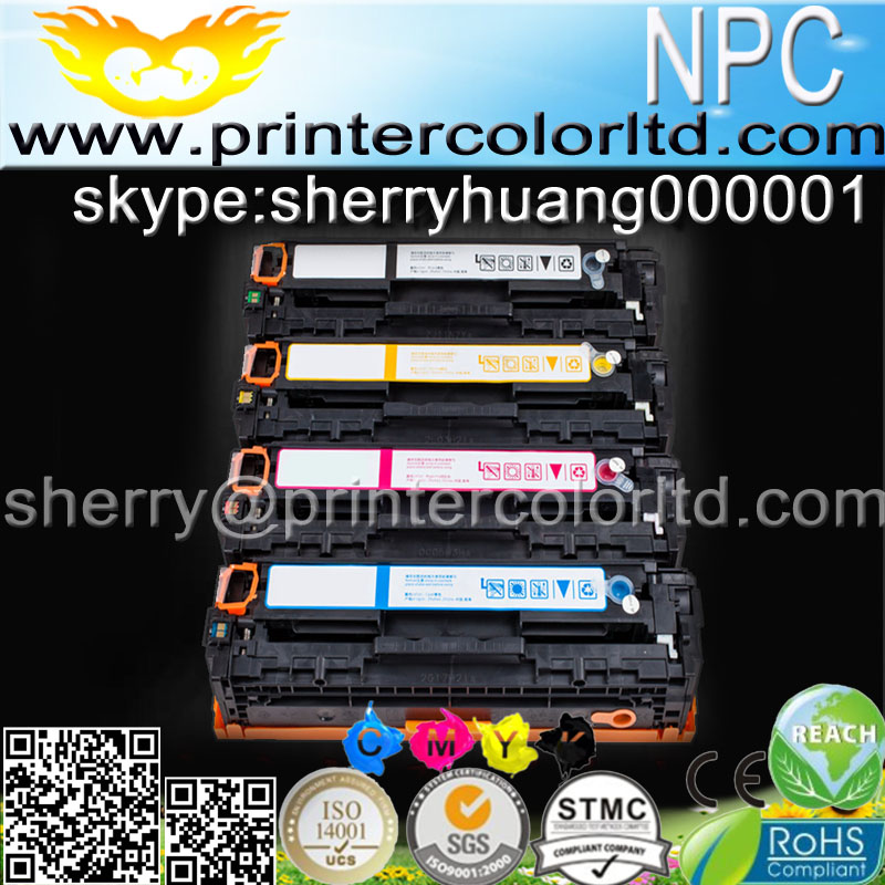 ФОТО Compatible color Toner Cartridge CF210A, CF211A,CF212A,CF213A 131A 131 for HP LaserJet Pro 200 Color MFP M276nw M251nw printer