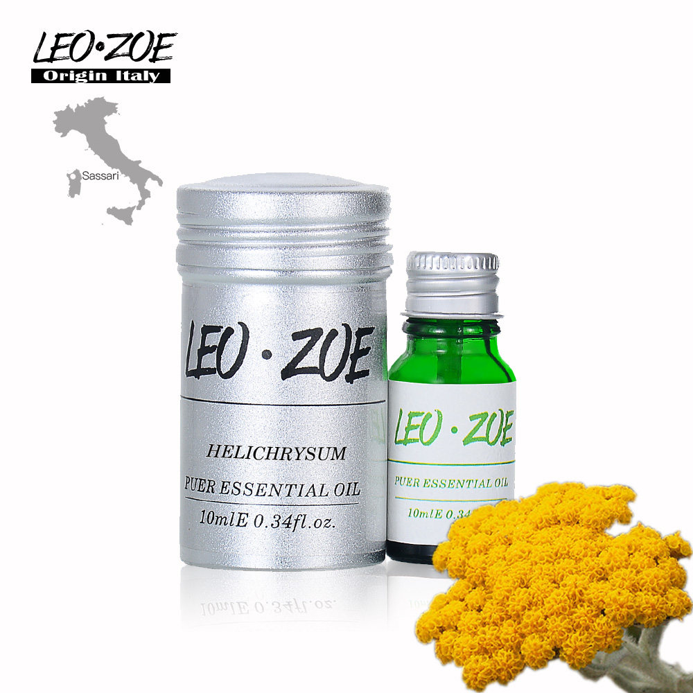 Helichrysum Essential Oil Famous Brand LEOZOE Certificate Of Origin Italy Authentication High Quality Helichrysum Oil 10ML image