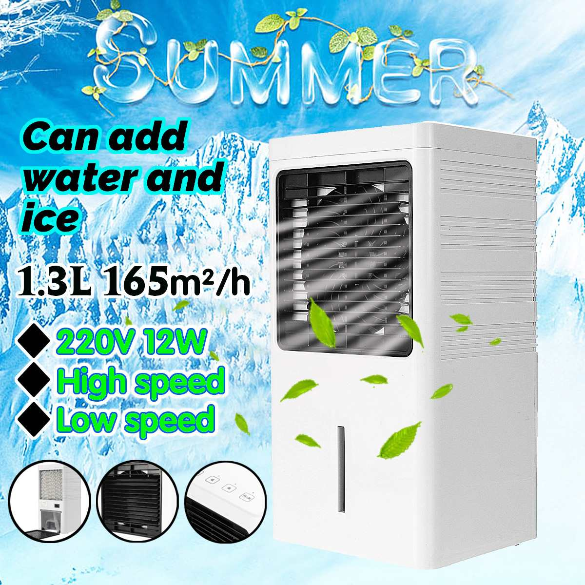Hot 220V Mini Portable Air Conditioner Humidifier Cooler Cooling System Desktop Air Cooling Fan Air Cooler Fan for Office HomeHot 220V Mini Portable Air Conditioner Humidifier Cooler Cooling System Desktop Air Cooling Fan Air Cooler Fan for Office Home