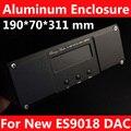 Chasis De Aluminio Para Nuevo DAC ES9018 DAC con 1602 pantalla LCD agujero y agujero XLR (190*70*311mm)