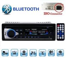 Новинка 2015 автомобиля Радио Bluetooth MP3 FM/USB/1 din/дистанционный пульт/usb порт 12 В Car Audio Bluetooth 1 DIN Auto Радио Blueooth AUX в