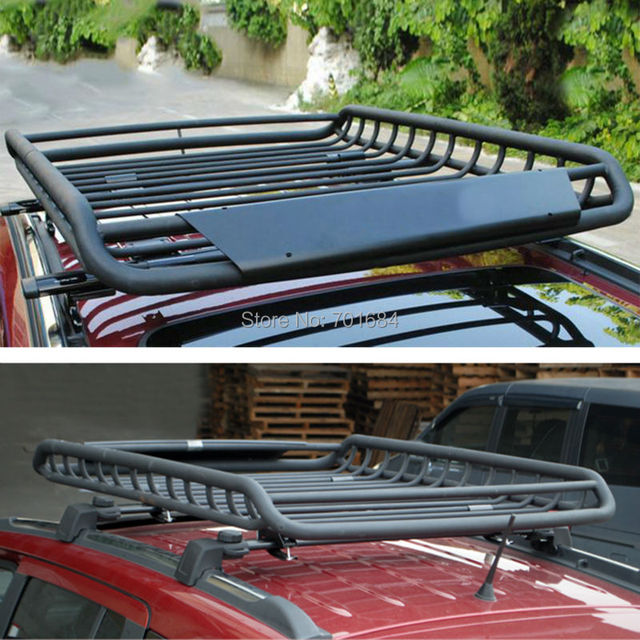Wotefusi Top Roof Rack Rail Cross Bars Luggage Carrier Cargo Storage