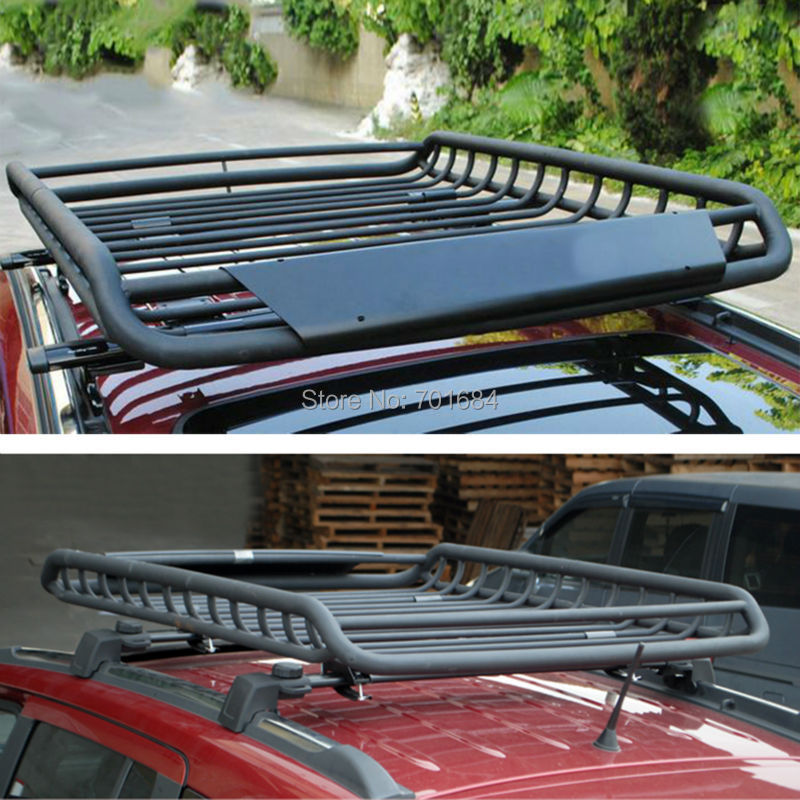 Wotefusi Top Roof Rack Rail Cross Bars Luggage Carrier Cargo Storage Frame Box Universal For Jeep Cherokee Grand [QPA410]